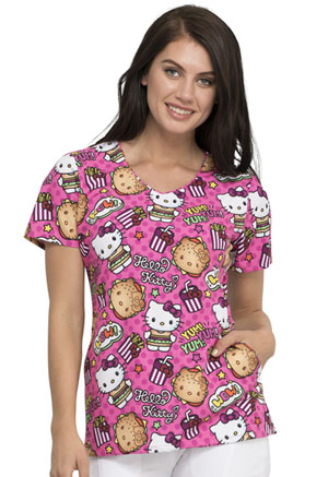 Tooniforms V-Neck Top Kawaii Burger (TF626-HKYM)