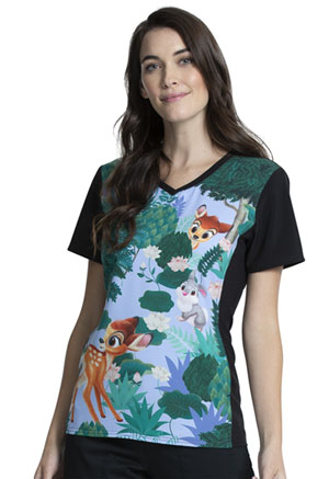 Tooniforms V-Neck Top Forest Frolic (TF627-BAAU)