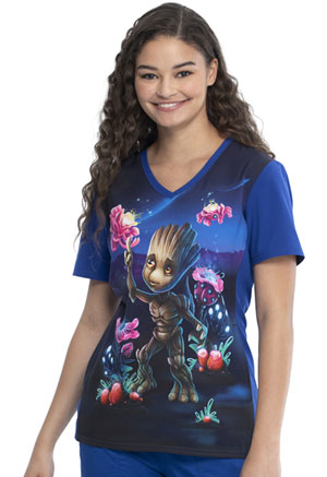 Tooniforms V-Neck Top Groot (TF627-MAOO)
