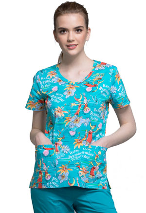 Tooniforms V-Neck Top Happy Birthday (TF633-SEBI)