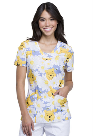 Tooniforms V-Neck Top Peek A Pooh (TF641-PHEE)