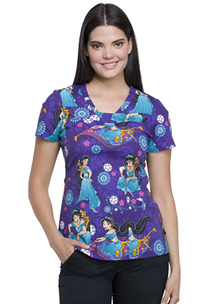 Tooniforms V-Neck Top Jasmine and Abu (TF641-PRAB)