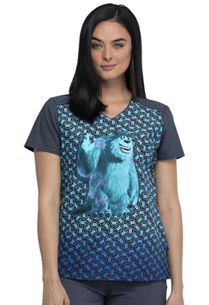 Tooniforms V-Neck Top Monsters, Inc. (TF660-MCMC)