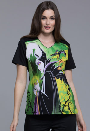 Tooniforms V-Neck Top Maleficent (TF694-VIMA)