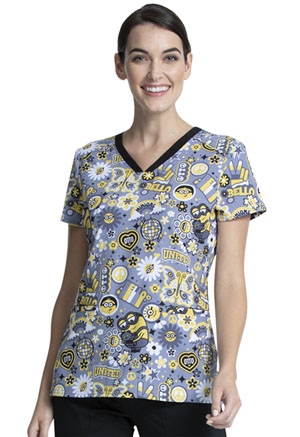 Tooniforms V-Neck Top Bello Minion (TF699-DPBO)