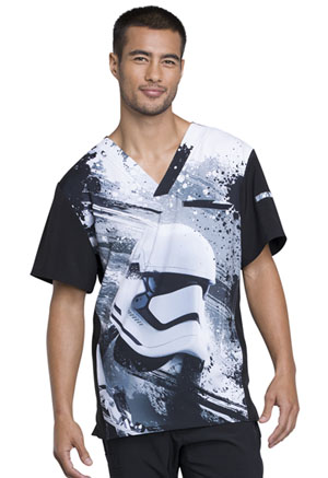Tooniforms Men's V-Neck Top First Order (TF700-SRFO)