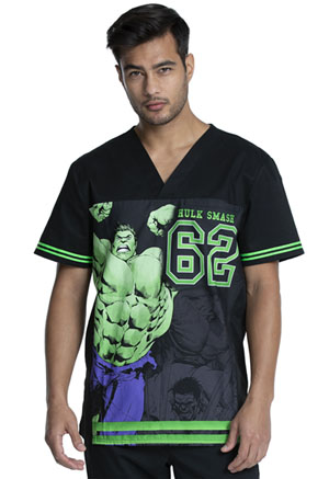 Tooniforms Men's V-Neck Top Hulk 62 (TF702-MAIX)