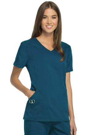 ScrubStar Canada Mock-Wrap Top Deep Slate (WA808-DESL)