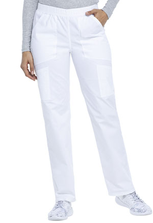 ScrubStar Canada Women's Pull on pant White (WC025-WHT)