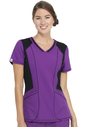 ScrubStar Canada V-neck Top Mystic Magenta (WC626-MTMG)