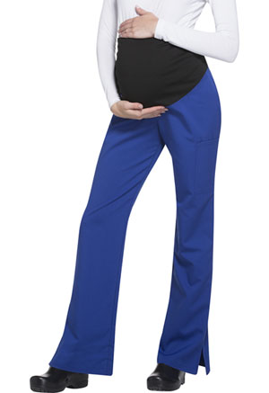 ScrubStar Maternity Flexible Pant Electric Blue (WD000-LRWM)