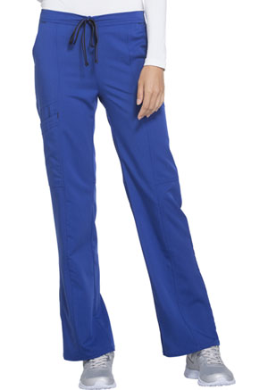 ScrubStar Women's Premium Rayon Drawstring Pant Electric Blue (WD002-LRWM)