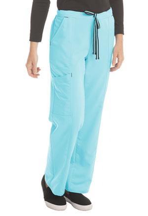 ScrubStar Women's Stretch Rayon Drawstring Pant Turquoise (WM007-RTWM)