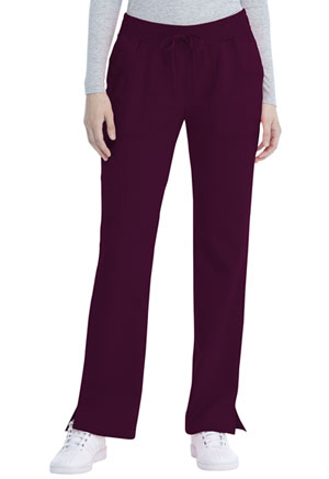 ScrubStar Women's Drawstring Pant Wine (WM018-WIN)