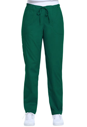 ScrubStar Women's Drawstring Pant Hunter Green (WM049-HUN)