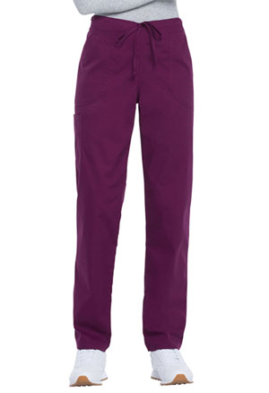 ScrubStar Women's Drawstring Pant Wine (WM049-WIN)