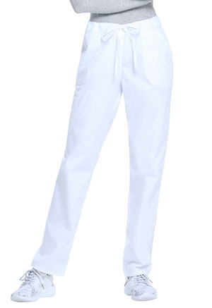 ScrubStar Women's Drawstring Pant White (WM050-WHT)