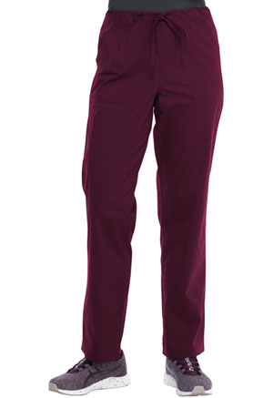 ScrubStar Unisex Drawstring Pant Wine (WM068-WIN)