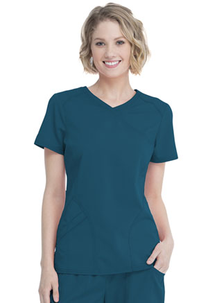 Women's Mock Wrap Top (WM818-DESL)