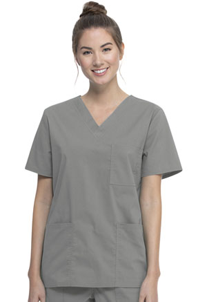 ScrubStar Unisex VNeck Top Condor Grey (WM872-CGW)