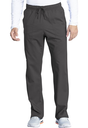 Cherokee Workwear Unisex Mid Rise Straight Leg Pant Pewter (WW042AB-PWT)