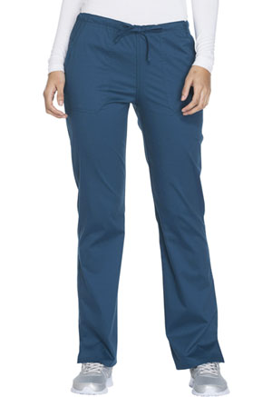 WW Core Stretch Mid Rise Straight Leg Drawstring Pant (WW130-CARW) (WW130-CARW)