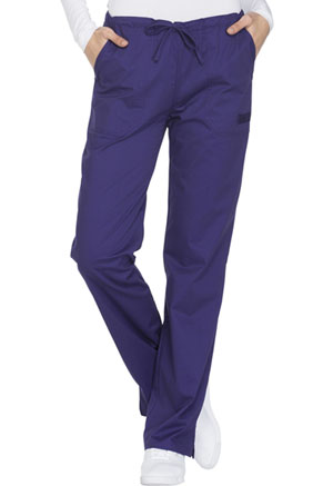 WW Core Stretch Mid Rise Straight Leg Drawstring Pant (WW130-GRPW) (WW130-GRPW)