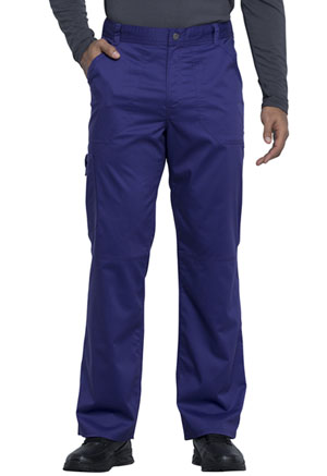 Cherokee Workwear Men's Fly Front Pant Grape (WW140-GRP)