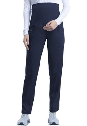 Cherokee Workwear Maternity Straight Leg Pant Navy (WW155-NAV)