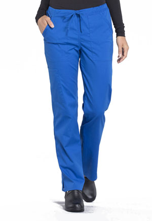 Workwear WW Professionals Mid Rise Straight Leg Drawstring Pant (WW160-ROY) (WW160-ROY)