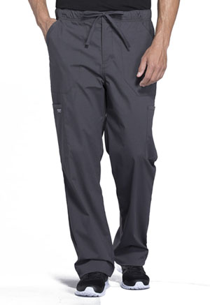 WW Professionals Men's Tapered Leg Drawstring Cargo Pant (WW190-PWT) (WW190-PWT)