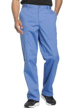 Cherokee Workwear Men's Fly Front Pant Ciel (WW200-CIEW)