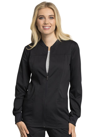 WW Revolution Tech Zip Front Warm-Up Jacket (WW305AB-BLK) (WW305AB-BLK)
