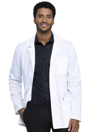 Cherokee Workwear Men's 32 Consultation Lab Coat White (WW400AB-WHT)