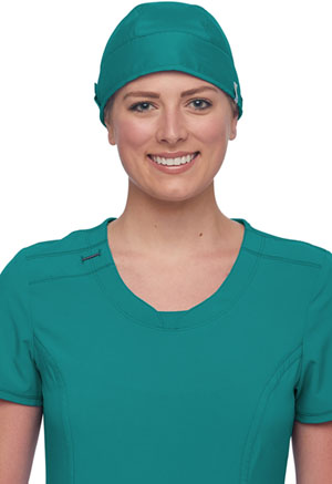 Cherokee Workwear Scrubs Hat Teal Blue (WW507AB-TLB)