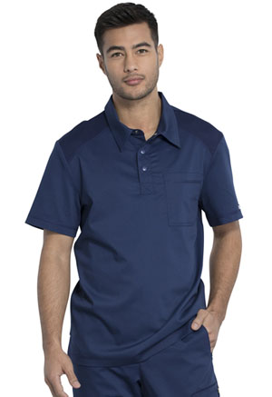Cherokee Workwear Men's Polo Shirt Navy (WW615-NAV)