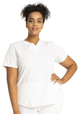 Workwear WW Professionals V-Neck Top (WW665-WHT) (WW665-WHT)