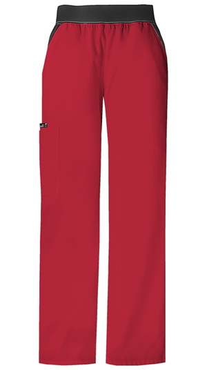 Flexibles Mid Rise Knit Waist Pull-On Pant (1031P-REDB) (1031P-REDB)