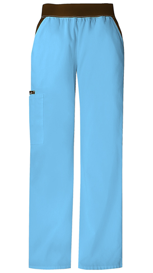 Photograph of Mid-Rise Knit Waist Pull-On Pant
