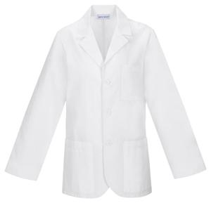 """Med-Man Cherokee Whites Men's 31"""" Men's Consultation Lab Coat White"""