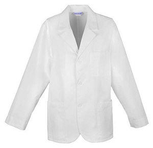 "Med-Man Cherokee Whites Men's 31"" Men's Consultation Lab Coat White"