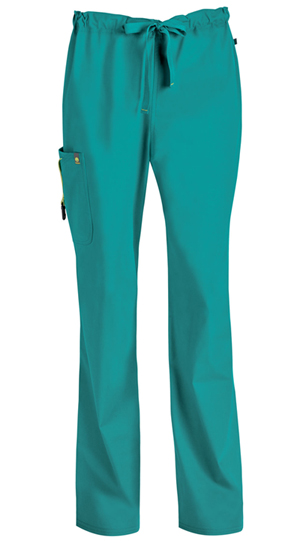 Code Happy Bliss Men's Drawstring Cargo Pant in Teal (16001ABS - TLCH)