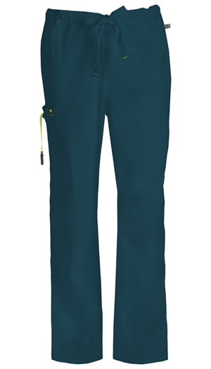 Code Happy Bliss Men's Drawstring Cargo Pant in Caribbean Blue (16001AS - CACH)