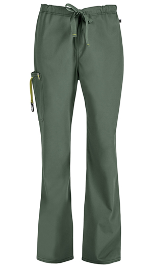 Code Happy Bliss Men's Drawstring Cargo Pant in Olive (16001AS - OLCH)