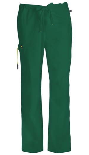 Code Happy Bliss Men's Drawstring Cargo Pant in Hunter Green (16001AT - HNCH)
