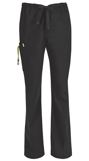 Code Happy Bliss Men's Drawstring Cargo Pant in Black (16001A - BXCH)