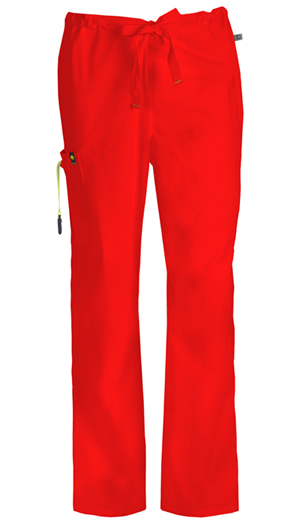 Code Happy Bliss Men's Drawstring Cargo Pant in Red (16001A - RECH)