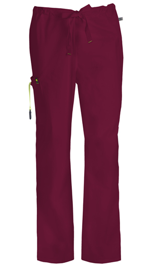 Code Happy Bliss Men's Drawstring Cargo Pant in Wine (16001A - WICH)