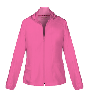 Heartsoul Zip Front Warm-Up Jacket Pink Party (20310-PNKH)