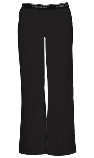 Cherokee Cherokee Fashion Solids Women's Pull-On Pant Black
